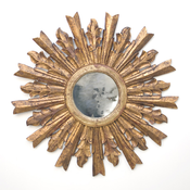 Image of Goya Gold Leaf Starburst Mirror