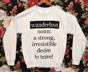 Image of 'Wanderlust' Sweater
