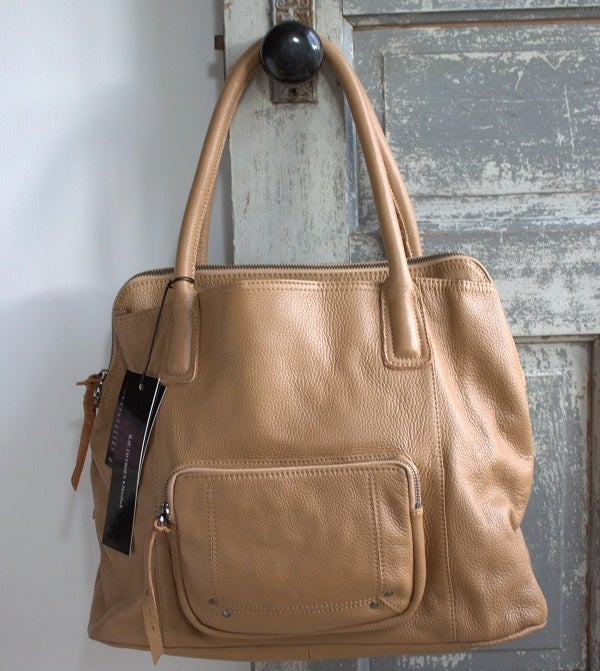 Image of NEW! Ilse Jacobsen Leather R5 Bag (Sesame)