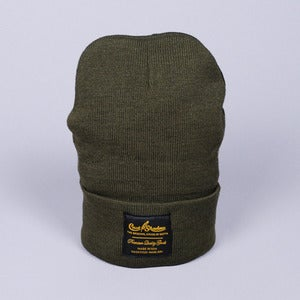 Image of Gold Label Beanie (Military Green)