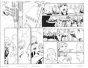 Image of All-New X-Men #7, p.18&19 Artist's Proof - SOLD