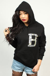 Image of Gianni B Hoodie Black Women's