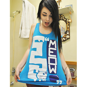 Image of MEOW! Tank top