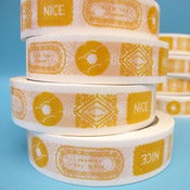 Image of Biscuits Sticky Tape - Yellow