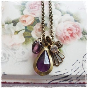 Image of Cabaret Necklace (purple)