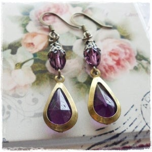 Image of Cabaret Earrings (purple)