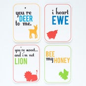 Image of I Love Ewe Animal Valentines