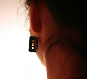 Image of VINYL RECORD EARRINGS/ PENDIENTES DE DISCOS DE VINILO