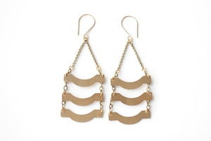 Image of Ripple Earrings 1B70