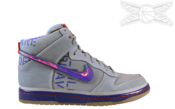 Image of Nike Dunk High Premium QS Galaxy Dunk
