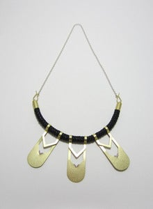 Image of Triple Crescent Necklace