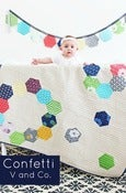 Image of Confetti quilt-PAPER PATTERN