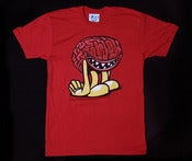 Image of RED BRAINLINGTON TSHIRT