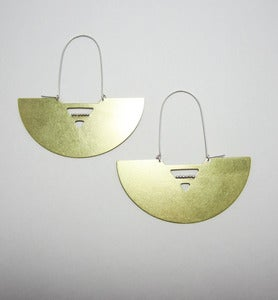 Image of Setting sun Earrings
