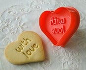 Image of Cortador de Galleta &quot;With Love&quot;