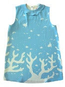 Image of Coral Silk Dress