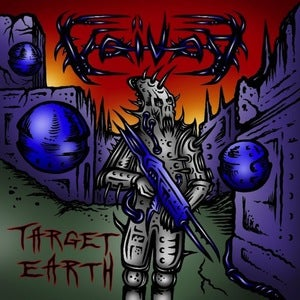 Image of VOIVOD - Target Earth CD & Katorz CD & Negatron CD + bonus CD