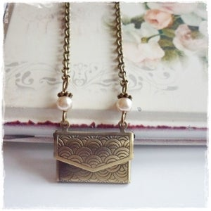 Image of Love Letter Envelope Necklace