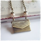 Image of Love Letter Envelope Bracelet