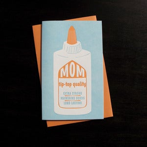 Image of 1715 - tip-top mother&amp;#x27;s day letterpress card