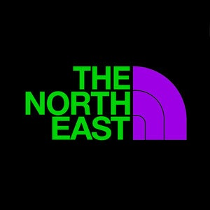 "Image of ""The North East"" Die-Cut"