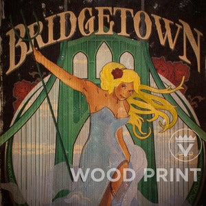 Image of Bridgetown - Wood Print
