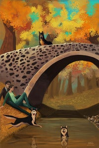 Image of &quot;Autumn Walk&quot; Limited Edition of 25  