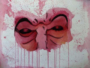 Image of Mask A3 (16.5 x 11.7 inches) print