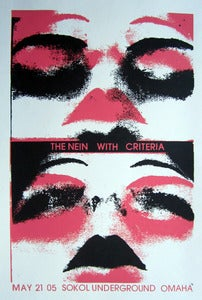 Image of The Nein with Criteria - Sokal Underground - Omaha Nebr - May 12 05