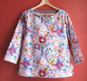 "Image of Blouse ""Vivement le printemps"""