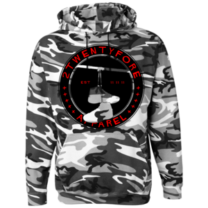 Image of 'Fighter Jet' Camo Hoodie