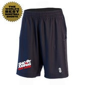 Image of Shoot Jumpers. Not Guns. x POINT 3 Basketball Shorts