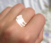 Image of Custom Order-Handmade Silver Rings .
