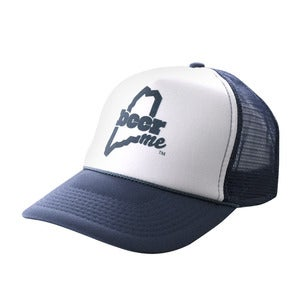 Image of BeerME Trucker Hat (Blue)