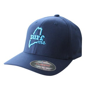 Image of SurfME Flexfit Hat (Navy)