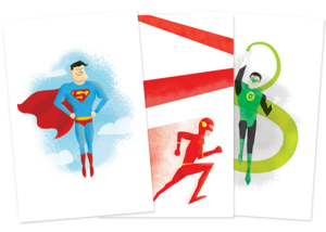 Image of Superhero Cards
