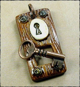 Image of Wooden Door Toggle Clasp