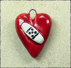 Image of Ouch Heart Charm