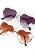 Image of Heart Shaped Sunglasses
