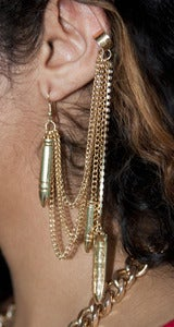 Image of Bullet Earrings