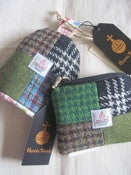 Image of Harris Tweed Patchwork Coin-purse