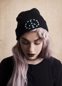 Image of Jervoise Beanie: Peace Gems