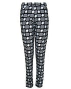 Image of Fair Trade Geo Print Trousers