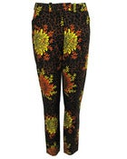 Image of Fair Trade Floral Print Trousers