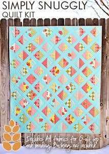 Image of Simply Snuggly Quilt Kit