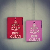 Image of Keep Calm And Ride Clean Air Freshener