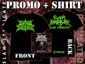 Image of ILLINOIS LOVE FOR CARNAGE - Slam Syndicate - Promo 2013 + Shirt