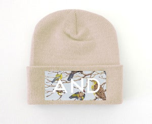Image of Pastel Bird AND Beanie