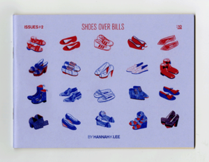 Image of Issues #2: Shoes over Bills - Lavender Edition
