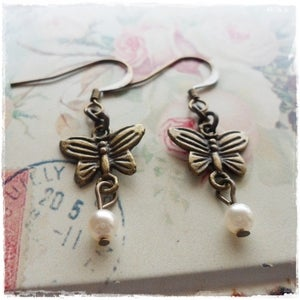 Image of Enchantment Butterfly Earrings